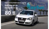 Volkswagen Polo Kahramanmaraş Havaalanı (KCM) Tayfun Oto Kiralama