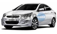Hyundai Accent Blue İzmir Konak Viaydi İzmir Oto Kiralama