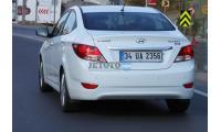 Hyundai Accent Blue Kayseri Kocasinan Expres Oto Kiralama