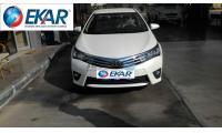 Toyota Corolla İstanbul Bahçelievler EKAR OTOMOBİL KİRALAMA&SEYAHAT; ACENTASI