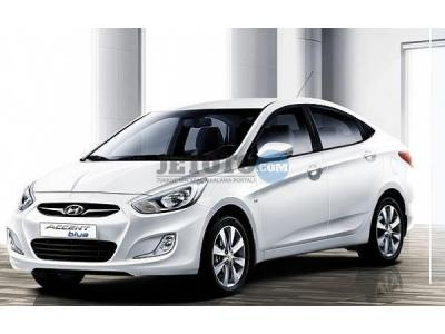 Hyundai Accent Blue