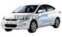 Hyundai Accent Blue Erzurum Yakutiye Ikizler Oto Kiralama Sun Rent A Car