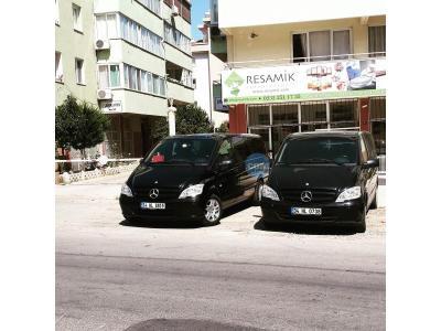 Mercedes Vito Izmir Gaziemir Mavi Rent a car
