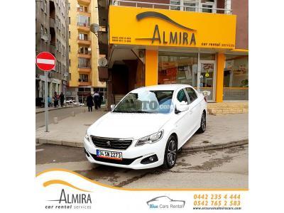 Peugeot 301 Erzurum Yakutiye Almira Car Rental Services