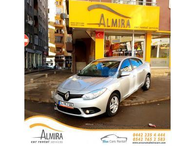 Renault Fluence Erzurum Yakutiye Almira Car Rental Services