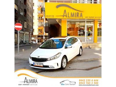 Kia Cerato Erzurum Yakutiye Almira Car Rental Services