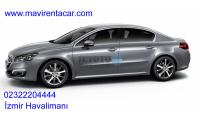 Peugeot 508 Izmir Gaziemir Mavi Rent a car