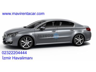 Peugeot 508 İzmir Gaziemir Mavi Rent a car