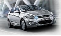 Hyundai Accent Blue Burdur Bucak First Class Car Rental