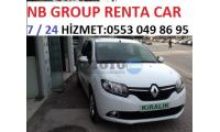 Renault Clio Symbol Manisa Akhisar NB GROUP RENT A CAR