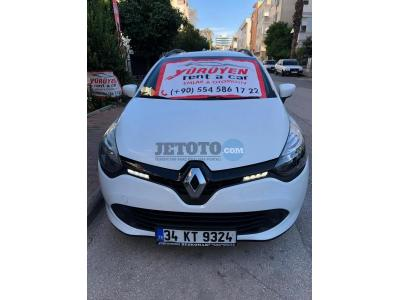 Renault Clio Antalya Muratpasa Yürüyen Rent A Car